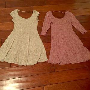 2 acemi dresses m